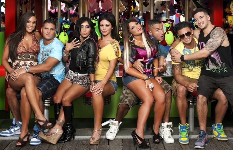 Jersey Shore cast.