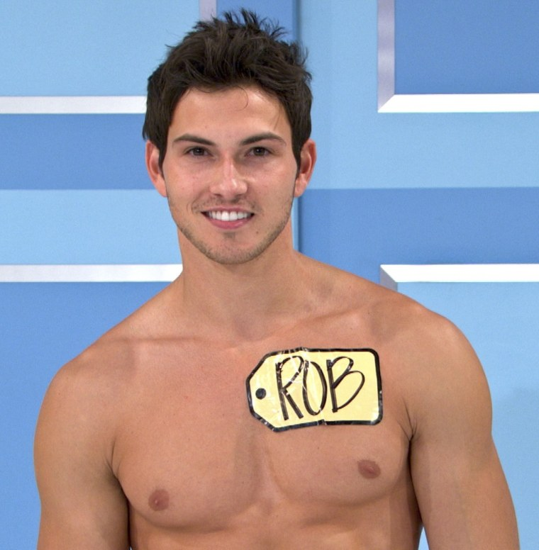 """Rob Wilson will be the first male model of \""""Price Is Right.\"""""""