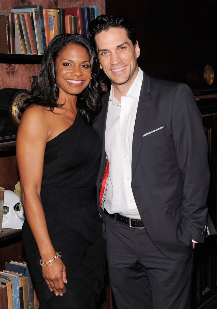 Audra McDonald and Will Swenson