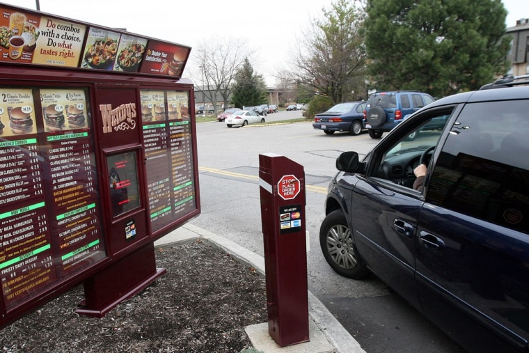 Full speed ahead. Wendy's drive-thru came in first in a survey of the fastest, fast-food restaurants.