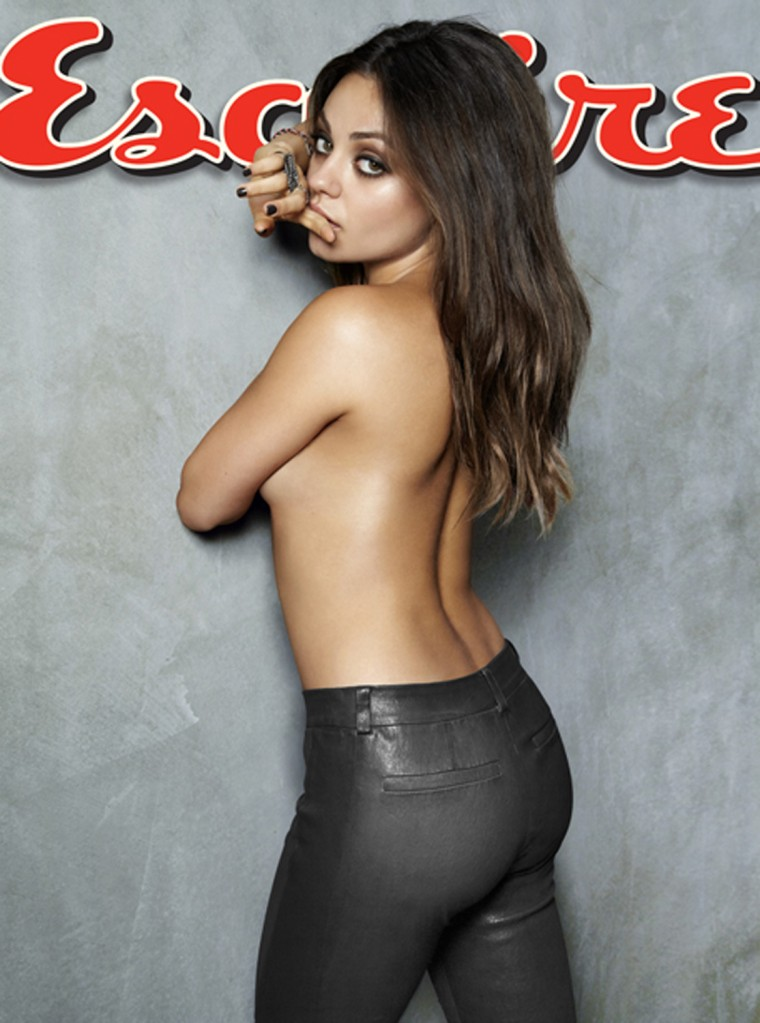 Mila Kunis was named Esquire's sexiest woman alive.