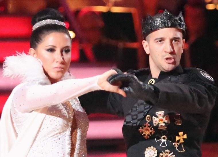 Mark Ballas and Bristol Palin had a bit of a tiff during rehearsals last week.