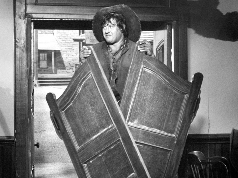 "Alex Karras as Mongo in 1974's \""Blazing Saddles.\"""