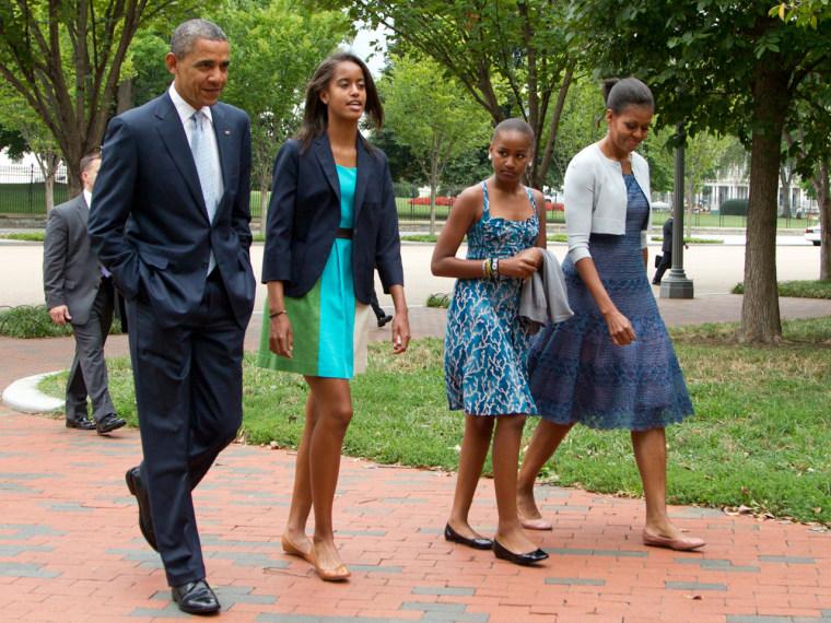 Image: The Obamas