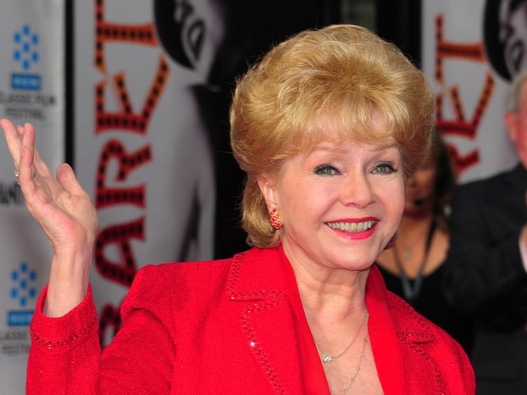 Debbie Reynolds in April 2012.
