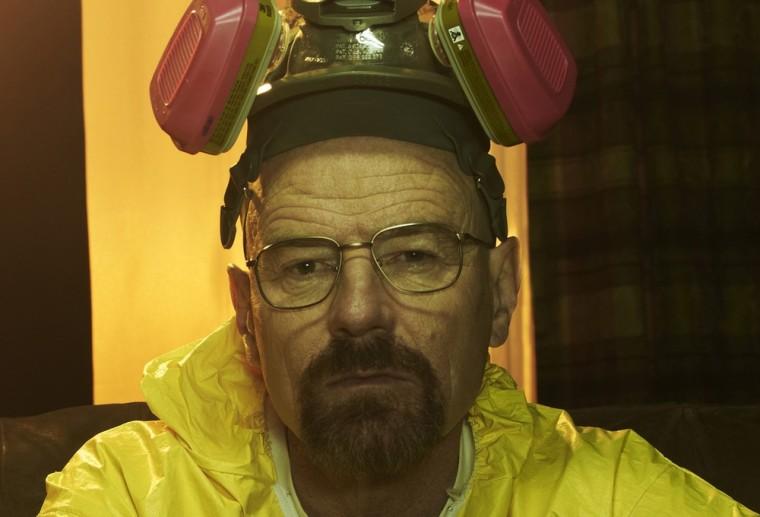 """Bryan Cranston as Walter White on \""""Breaking Bad.\"""""""