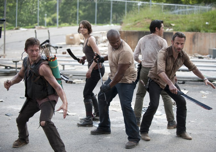 "Prison may turn into a haven in Season 3 for ""Walking Dead"" survivors."