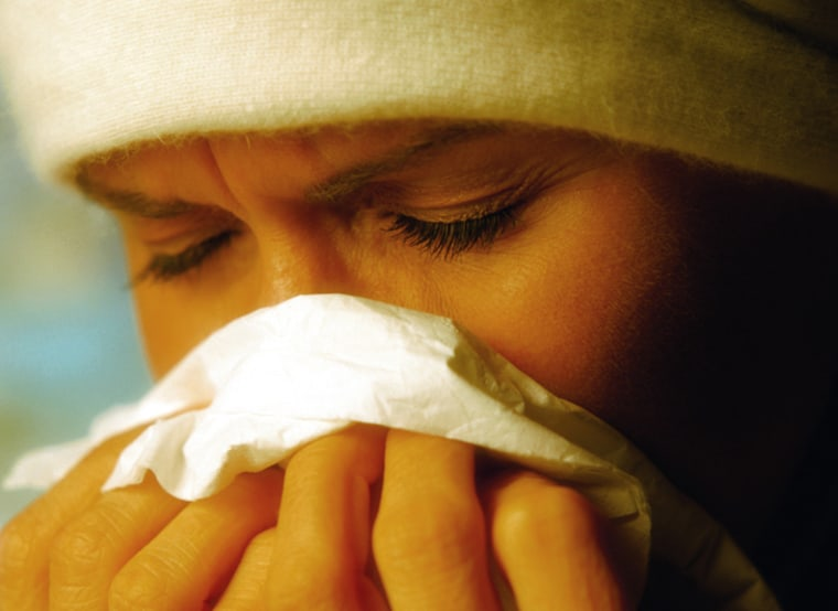 That stuffed-up-nose feeling characteristic of a sinus infection may be due to humidity.