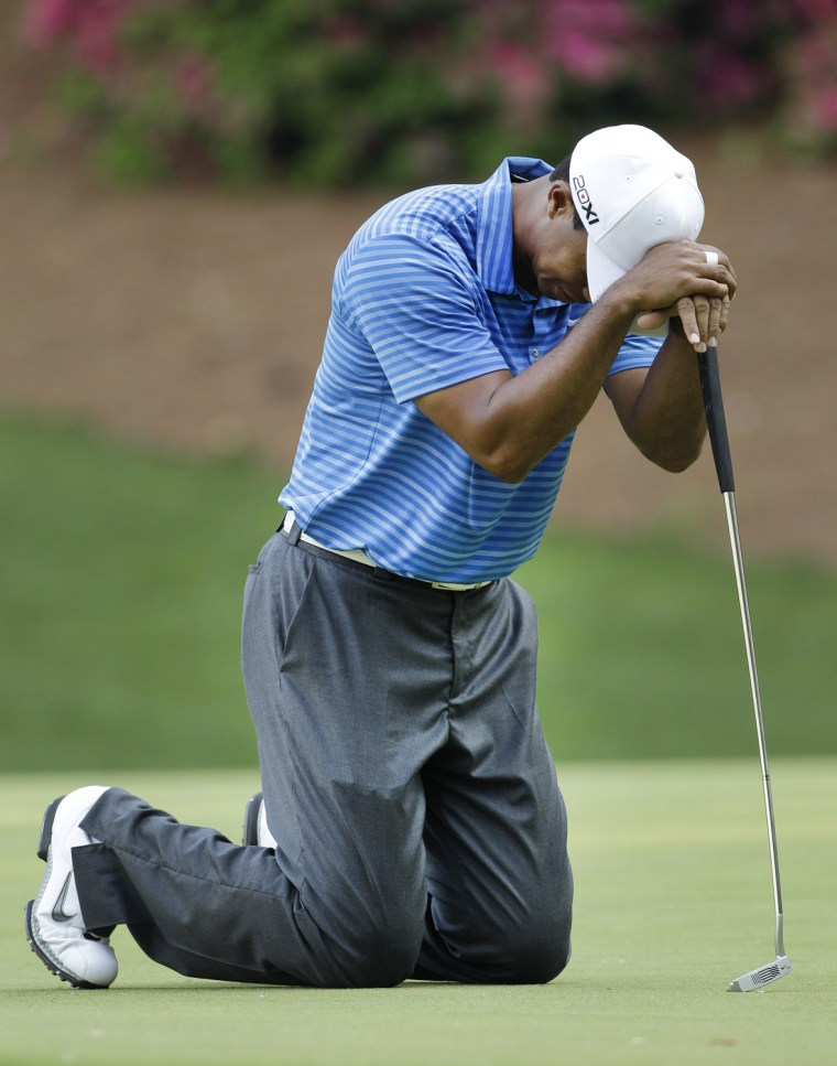Oh, Tiger. Read on -- we can help.