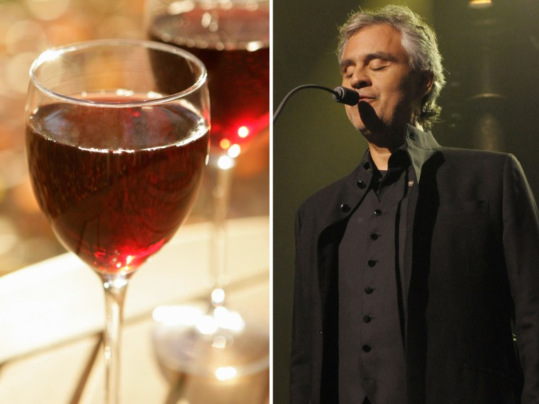 Andrea Bocelli's family has been making wine for more than 130 years, and it shows.