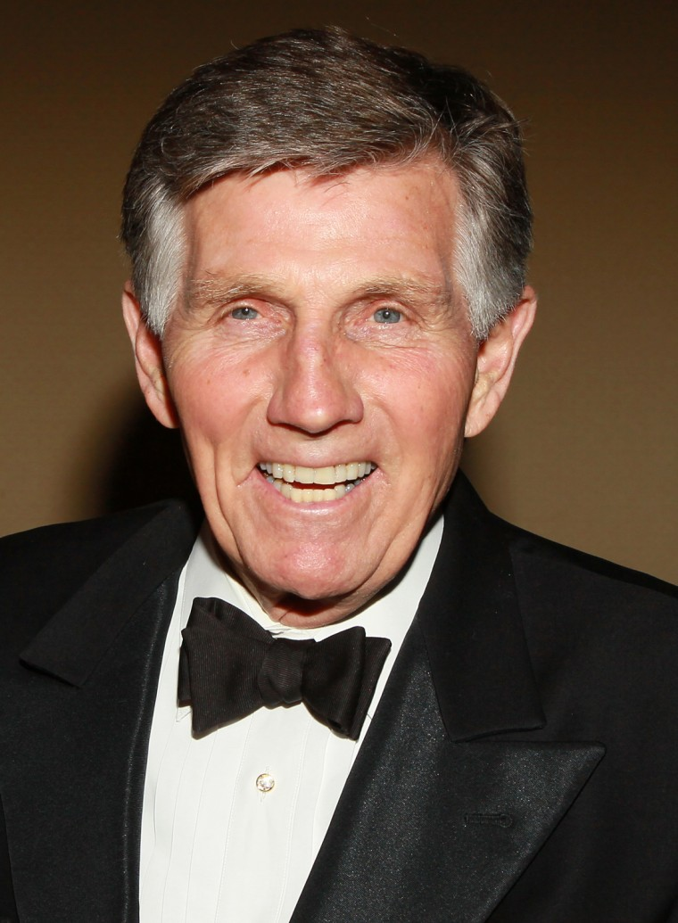Actor Gary Collins, shown in 2010.