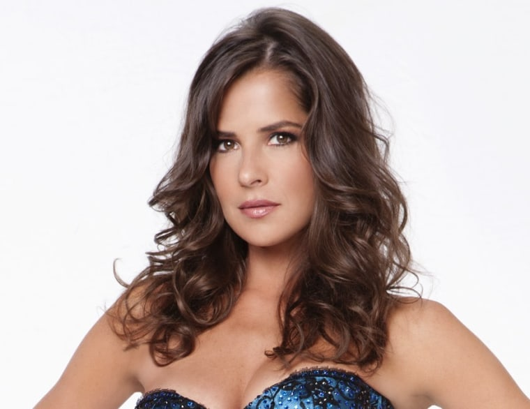 Soap star Kelly Monaco is back in the ballroom to try for her second mirror ball trophy.