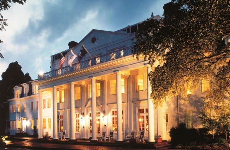 With crown moldings, four-poster beds and fireplaces in rooms, you'll see plenty of antebellum charm at The Willcox hotel in Aiken, S.C.