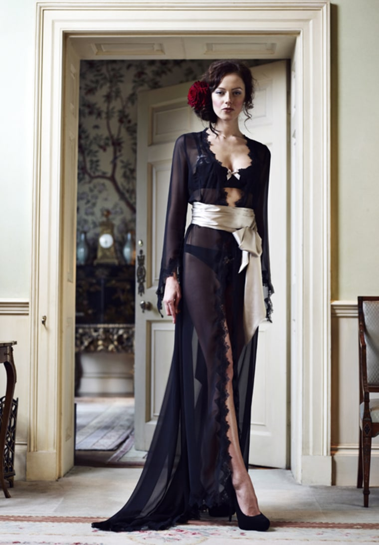 Fit for a Crawley? Lucile's Duchess of Warwick gown sells for a cool $499.