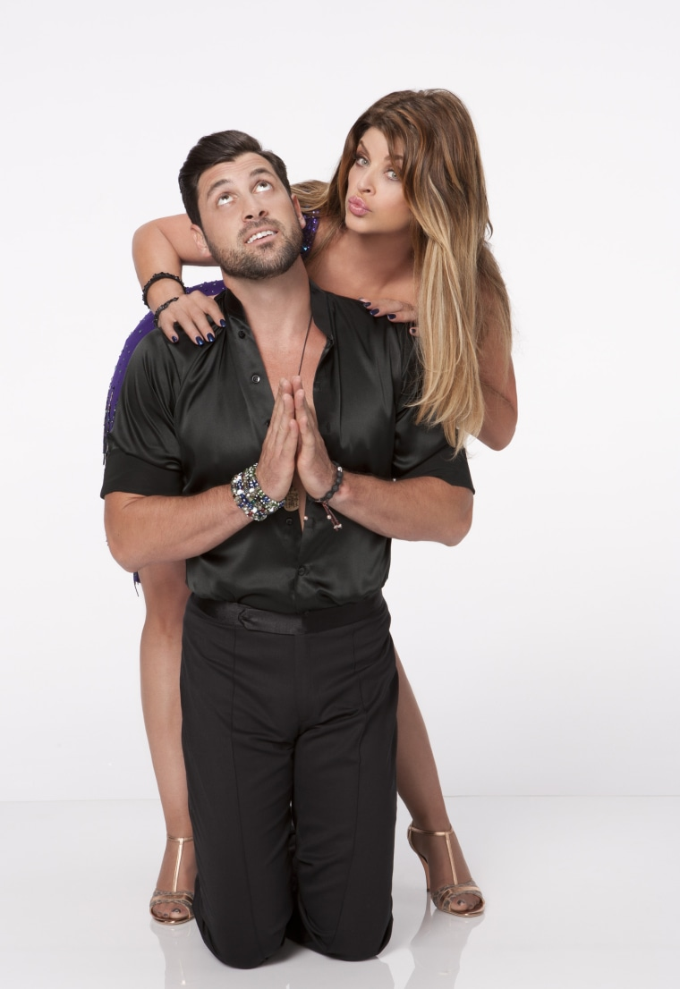 According to Kirstie Alley's pro partner, Maksim Chmerkovskiy, the actress is being underscored for her all-star efforts.