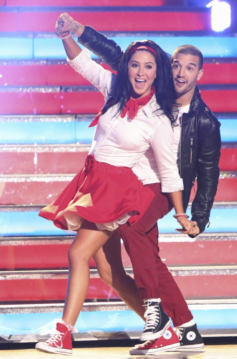 Bristol Palin and Mark Ballas' rock 'n' roll routine Monday didn't impress fans of the show.