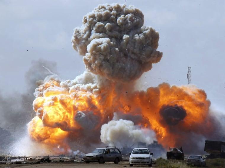 An uprising in Libya ousts dictator Moammar Gadhafi.