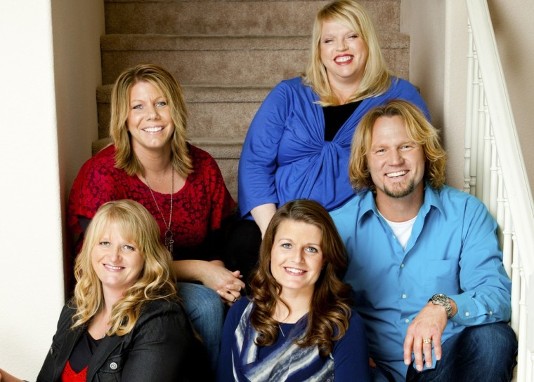 The Brown family, from left, Christine, Meri, Janelle, Robyn and Kody.