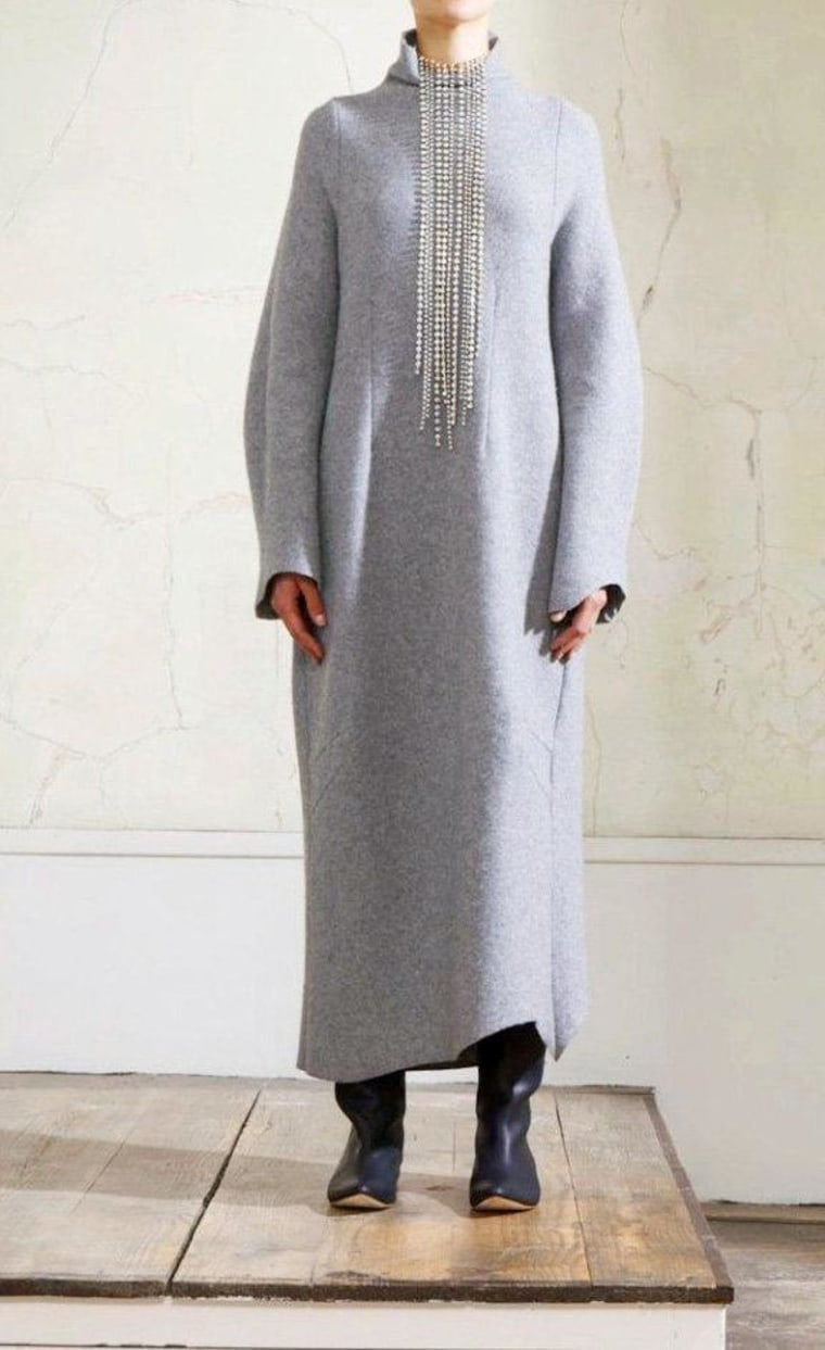 One of the looks from designer brand Maison Martin Margiela's collection for H&M.