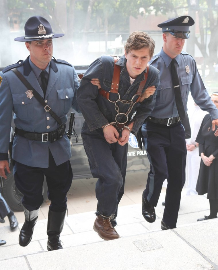 Evan Peters, who starred as Tate in season one, is back, this time as Briarcliff patient Kit.
