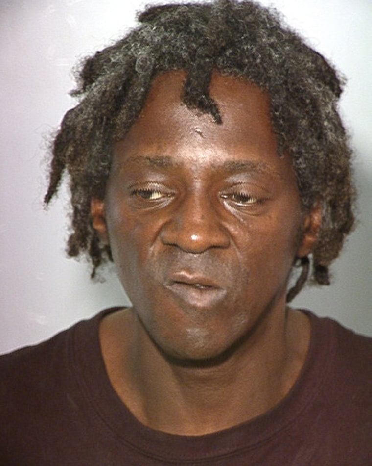 William Drayton, also know as Flavor Flav, is shown in this booking photograph released by the Las Vegas Metropolitan Police Dept. on Oct. 17.