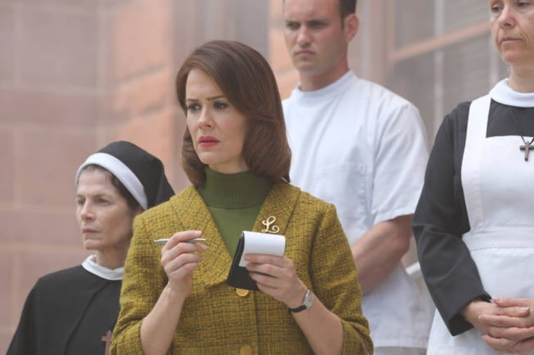 "Sarah Paulson as Lana in ""American Horror Story."""
