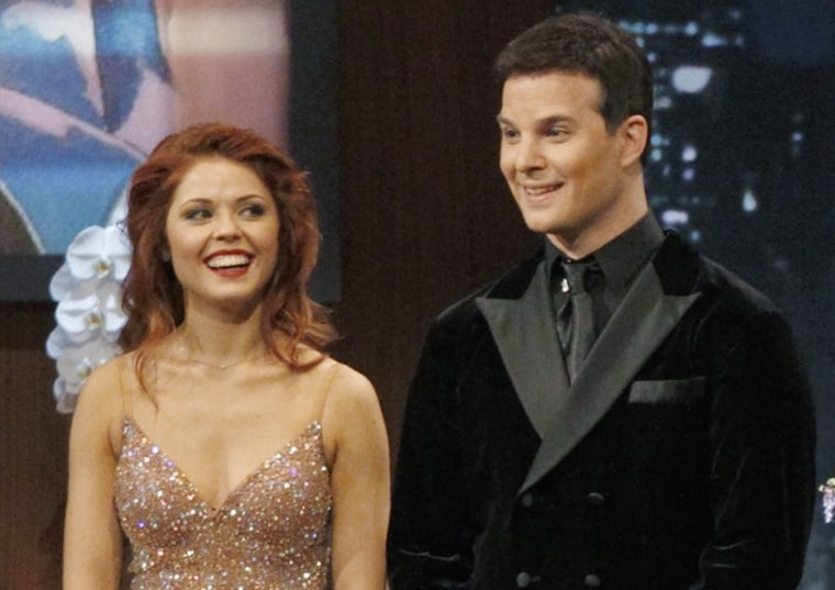 """Jonathan Roberts and Anna Trebunskaya of \""""Dancing With the Stars\"""" have announced that they're splitting."""