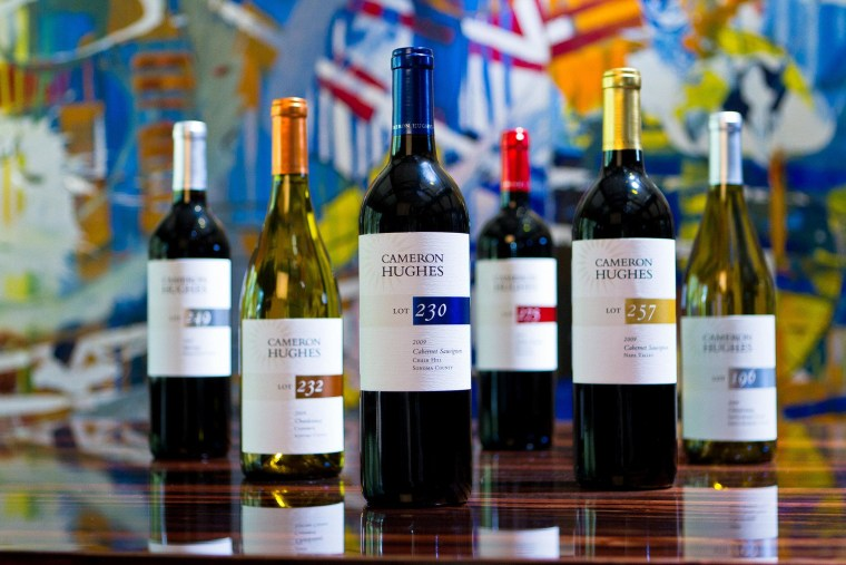 What's in a name? Cameron Hughes gets his wine from sources around the world and sells them on the cheap.