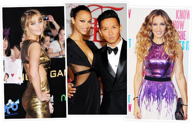 Celebrities such as Jennifer Lawrence, Zoe Saldana and Sarah Jessice Parker are fans of designer Prabal Gurung.