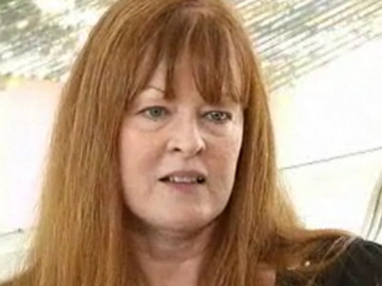 """""""People always tell everybody I'm a redhead for a reason,"""" Becky Rogers-Peck told TODAY.com. """"I got that temperament."""""""