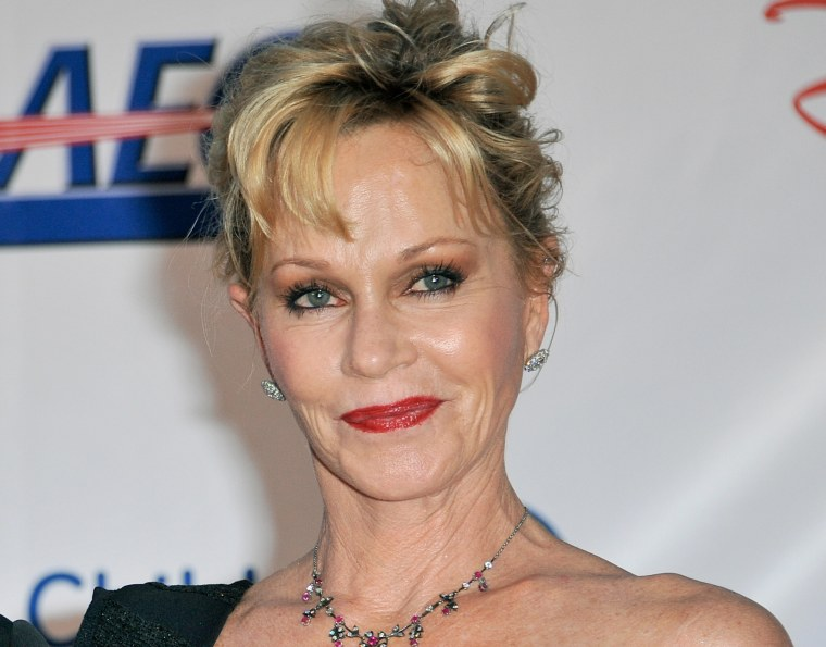 Melanie Griffith at the Children's Hospital LA Gala: Noche de Ninos at L.A. Live on Saturday, Oct. 20.