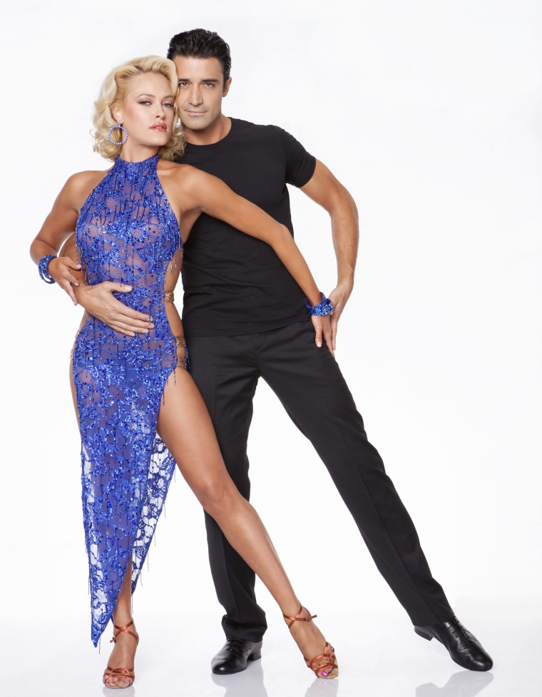Peta Murgatroyd blames Gilles Marini's sexiness for causing one judge to crash out of her chair.