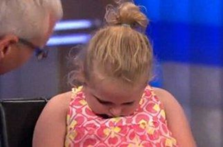 """Alana \""""Honey Boo Boo\"""" Thompson tries to get out of an interview on \""""Dr. Drew.\"""""""