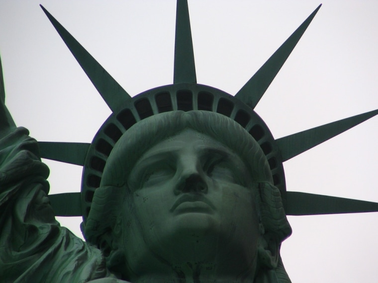 On Sunday, the Statue of Liberty will once again open to visitors.