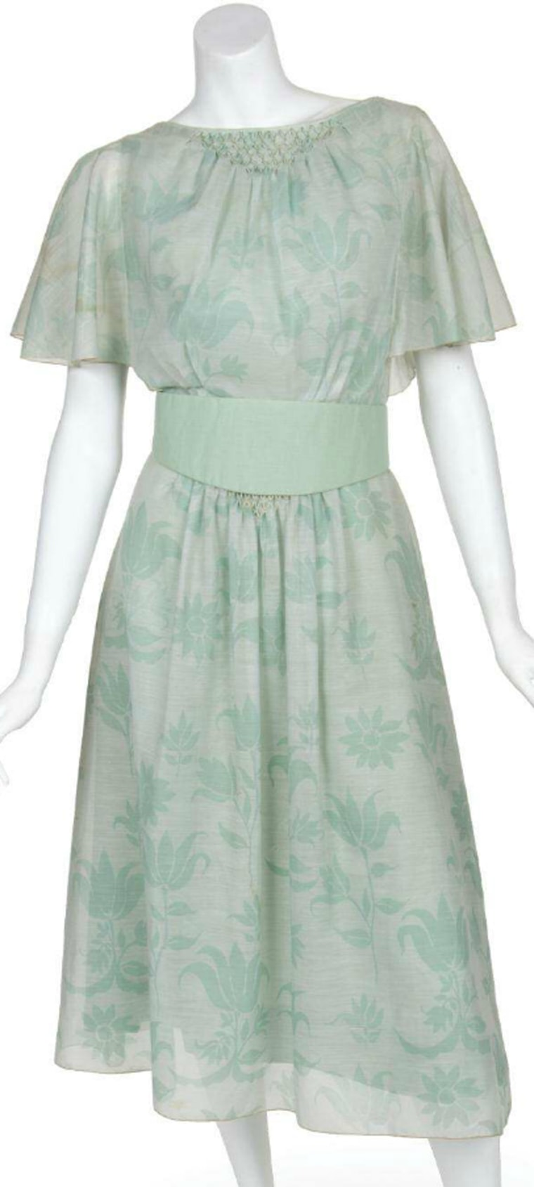 Julie Andrews wore this dress in several scenes in