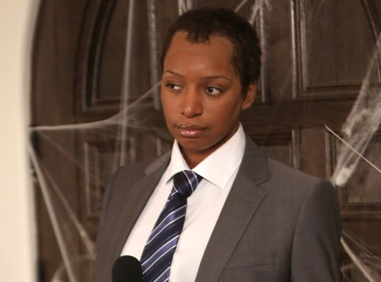"""Rocky (NeNe Leakes) is instructed to dress up as Matt Lauer for Halloween on \""""The New Normal.\"""""""