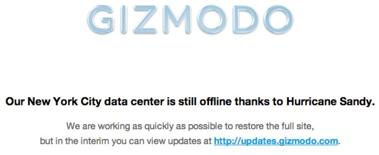 Gizmodo redirect
