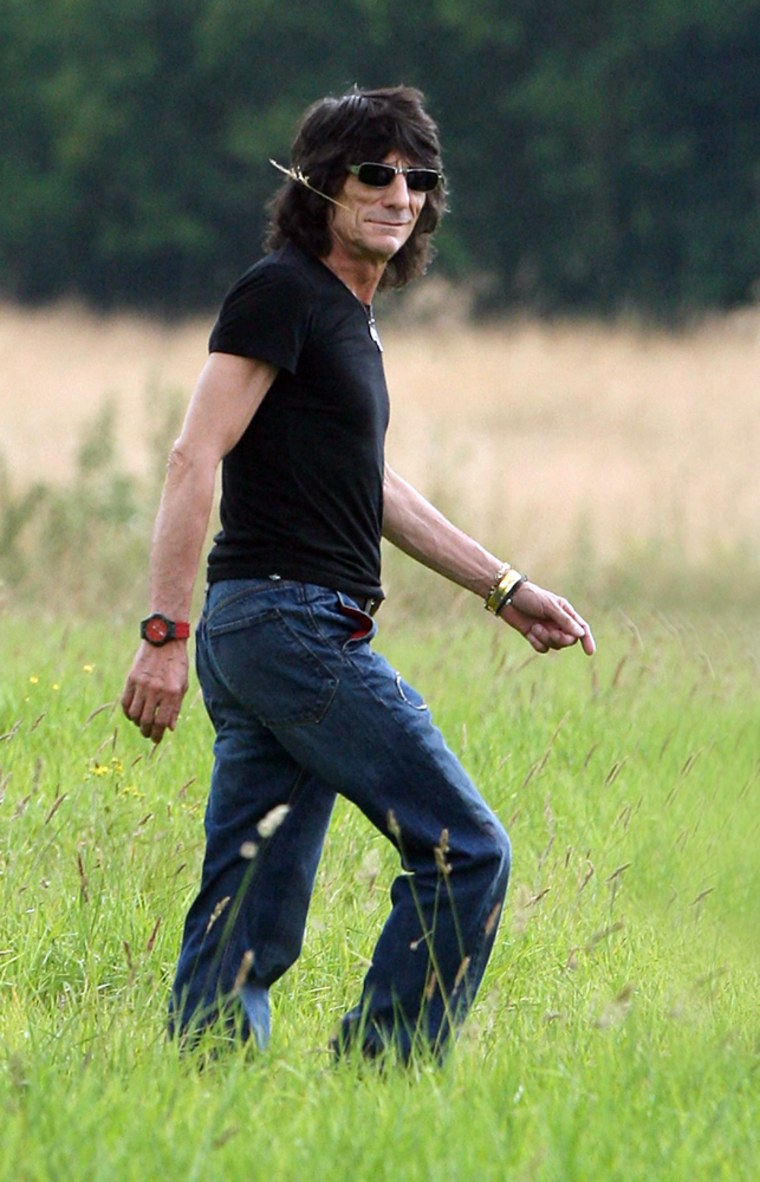 Ronnie Wood in 2008.