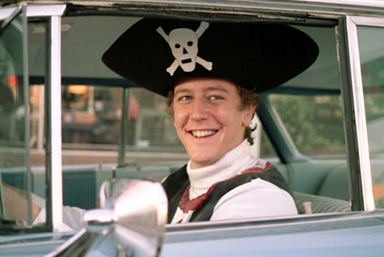 """Brad Hamilton  enough of the pirate hat in """"Fast Times."""""""