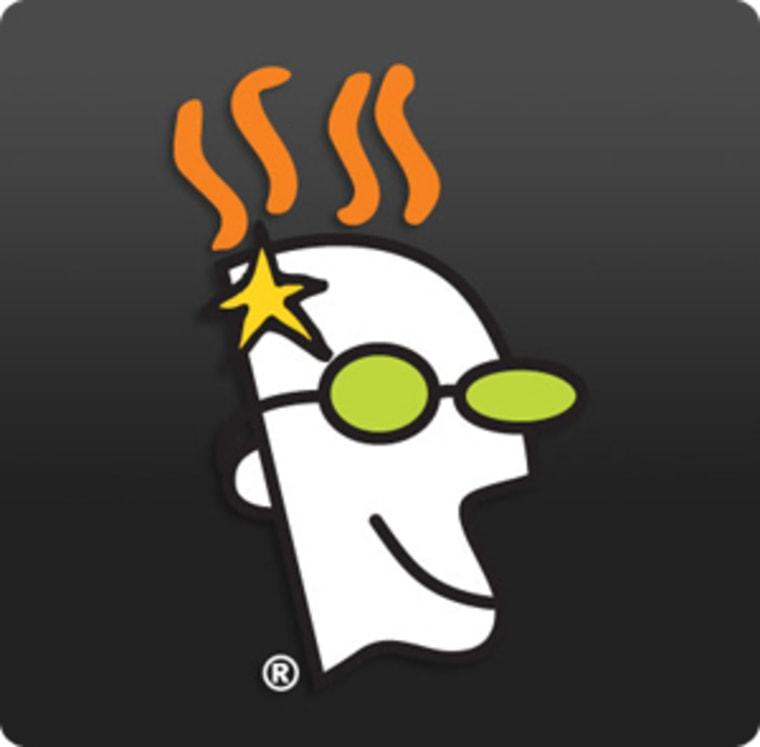 GoDaddy's icon