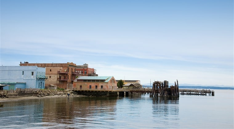 Port Townsend, Wash., includes numerous  Victorian buildings and a maritime center.