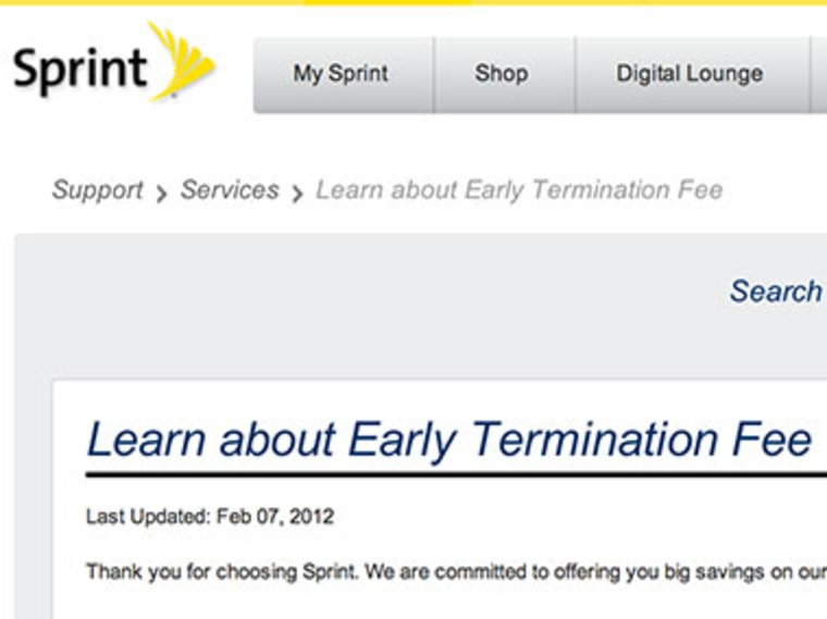 Phone early termination fees how to know what you d owe