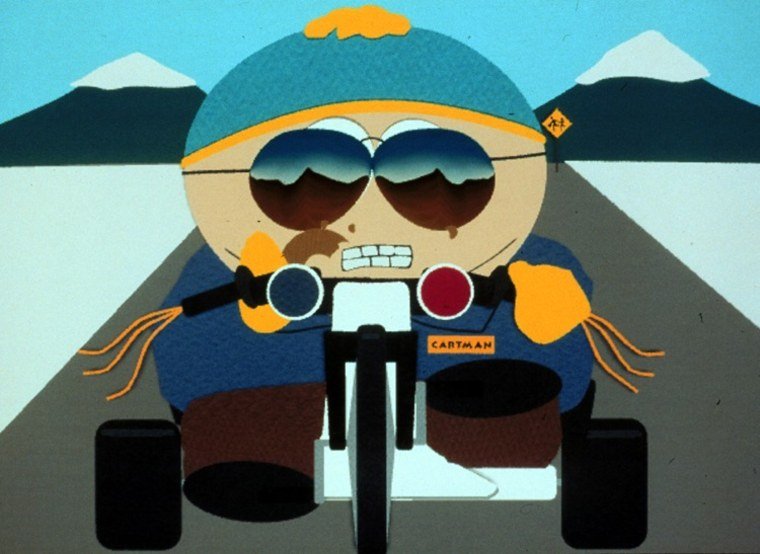 "Cartman of ""South Park"" has no respect for any religion. Unless it's food."