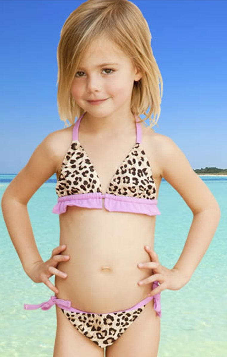 91c6cdf81a Swimwear from Hurley's kids collection is riling some parents and advocacy  groups.