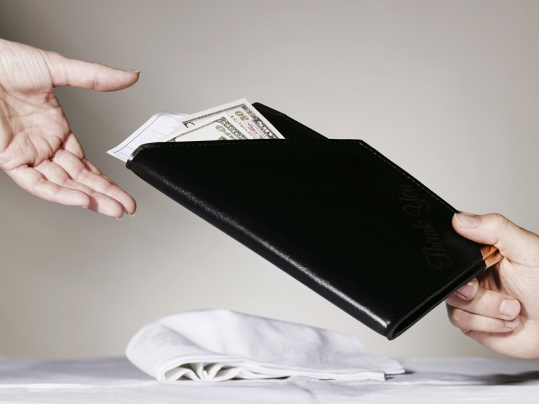 The New York Post reports that some waiters expect a standard tip of 25 percent. What do you think?