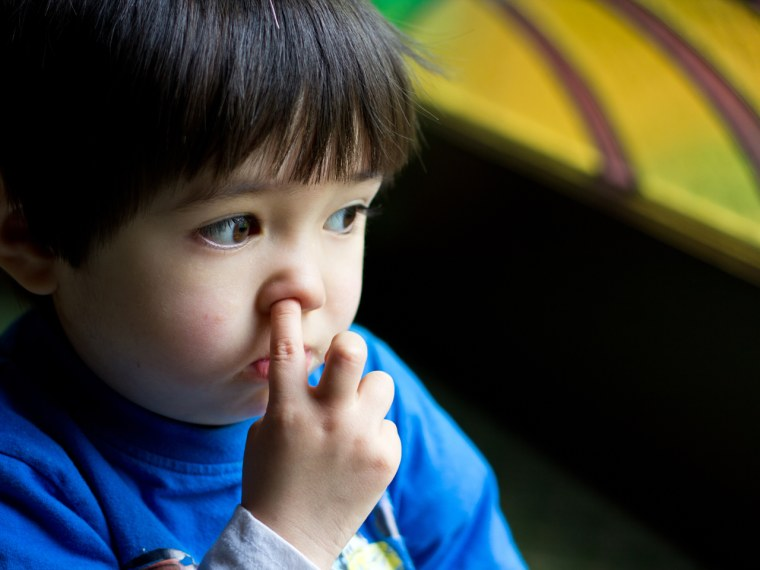 What's a parent to do when you've got a die-hard nose-picker? TODAY Moms readers have some ideas.