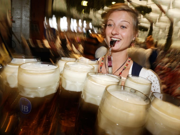 Millions of beer drinkers from around the world will come to the Bavarian capital over the next two weeks for the 179th Oktoberfest, which began Sept. 22 and runs until Oct. 7.