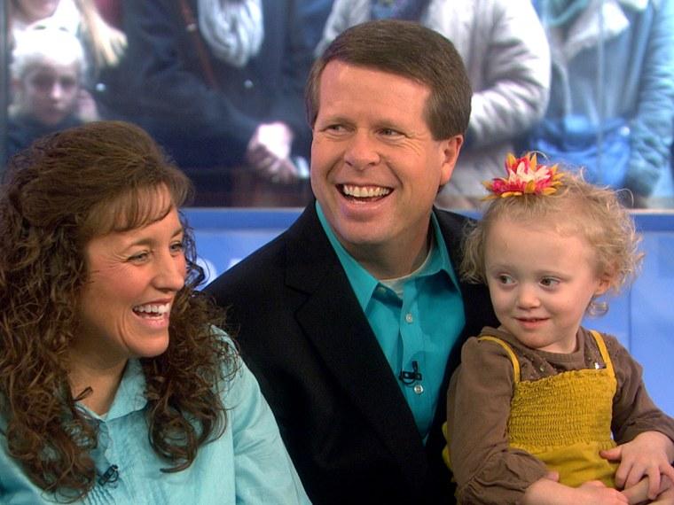 Michelle and Jim Bob Duggar, parents of 19,