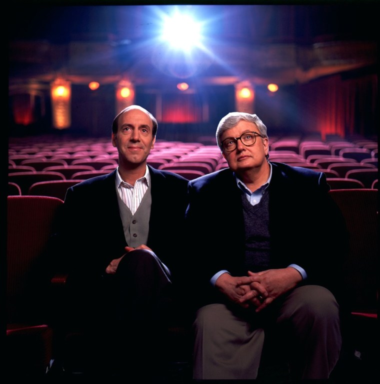 Gene Siskel and Roger Ebert in an undated photo.