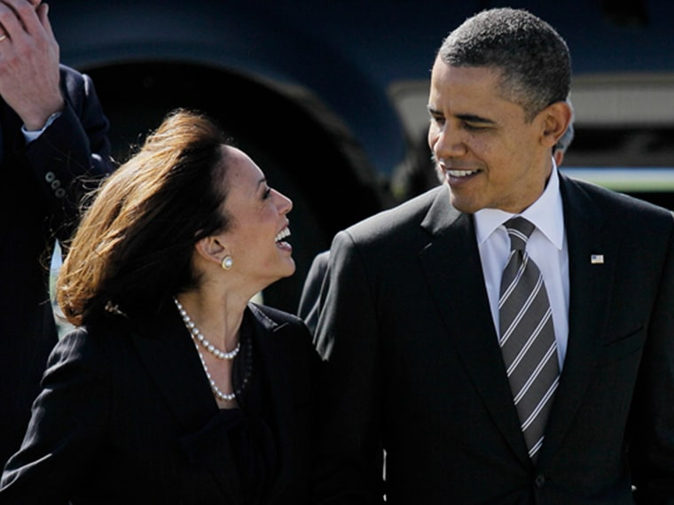 President Obama apologized to Kamala Harris for his controversial comment.